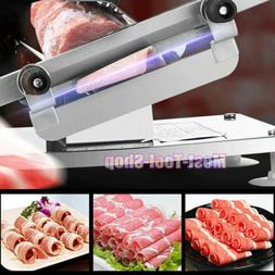 0.3mm-15mm Manual Frozen Meat Slicer Beef Mutton Sheet Roll