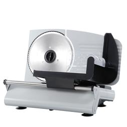 "7.5"" Blade 150W Durable Meat Slicer Electric Deli Slice Vegg"