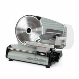 """8.7"""" Commercial 180W Electric Meat Slicer Blade Deli Cutter"""