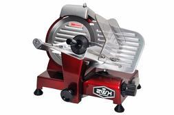 "KWS Premium 200w Electric Meat Slicer 6"" Stainless Steel Bla"