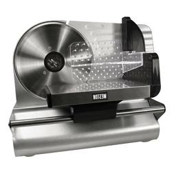 Weston 7.5-Inch Stainless Steel Food Slicer