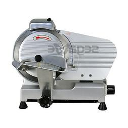 """8.7/"""" Blade Electric Meat Food Slicer Steel Cheese Cutter Kitchen Tool Commercial"""