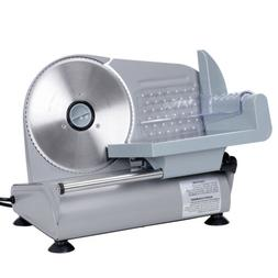 """7.5/"""" Electric Meat Slicer Commercial Deli Ham Food Cheese Cutter Blade 150W Home"""