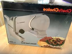 Chef's Choice EdgeCraft 615 Premium Electric Food Slicer, 4o