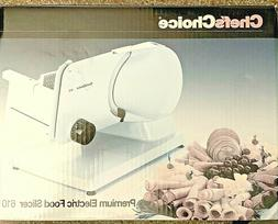 """Electric Food Slicer 7"""" Stainless Steel Blade Meat Cheese Br"""
