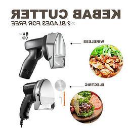 Electric Kebab Cutter Slicer Meat Knife Doner Shawarma Cutti