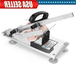 Home Cooking Meat Slicer CutterStainless Steel Manual Frozen