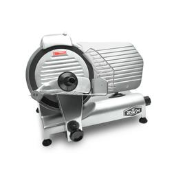 """KWS Premium Commercial 320W Electric Meat Slicer 10"""" with Te"""