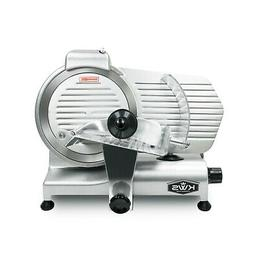 """KWS Premium Commercial 320W Electric Meat Slicer 10"""" with St"""
