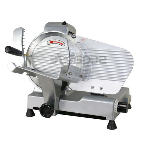 """10"""" Blade Commercial Meat Slicer Deli Meat Cheese Food Slice"""