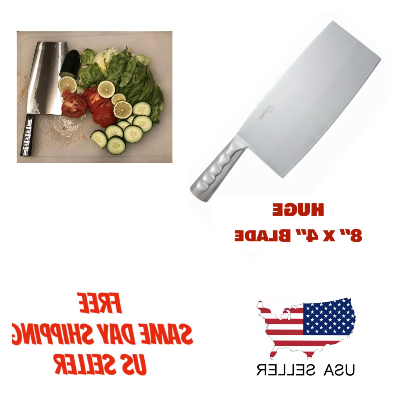 chef knife heavy duty chinese cleaver chopping