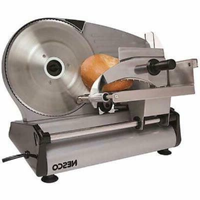 Commercial Electric Meat Slicer Deli Cheese Food Cutter Kitchen Home
