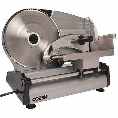 Electric Slicer Food Meat Cheese Bread Fruit Cutter 8.7 Blad