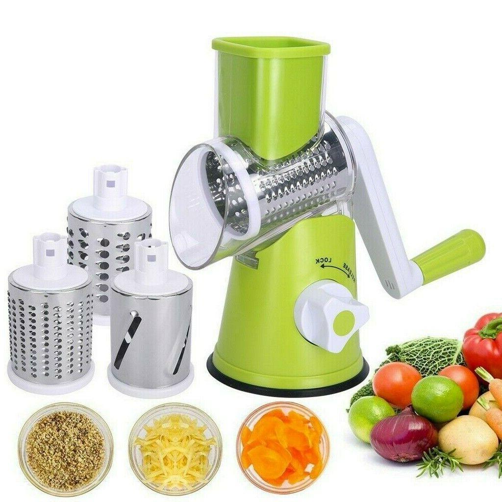 Kitchen Multifunction Manual Round Vegetable Cutter Slicer G