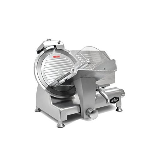 """KWS Metal Collection Commercial 420W 12"""" Meat Slicer MS-12DS"""