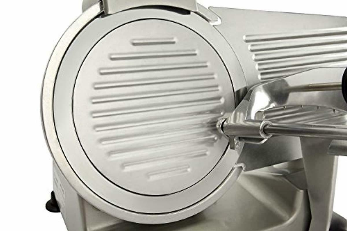 plated Carbon Electric Meat Food Slicer