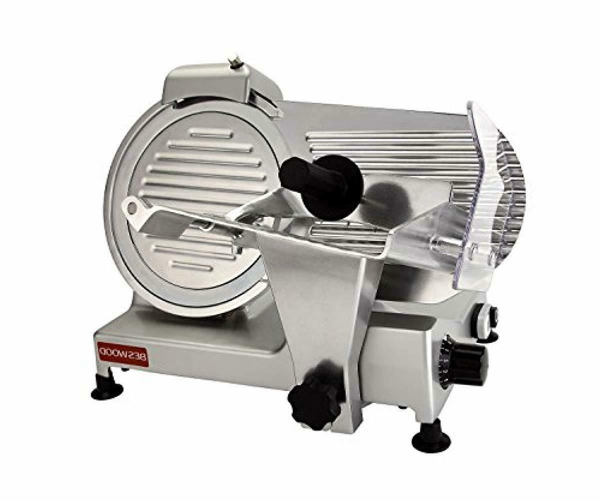 plated carbon steel blade electric deli meat
