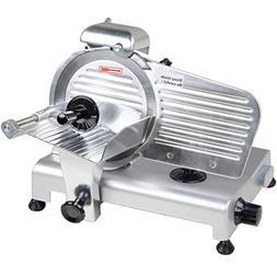 "Avantco SL309 9"" Manual Gravity Feed Meat Slicer - 1/4 hp"